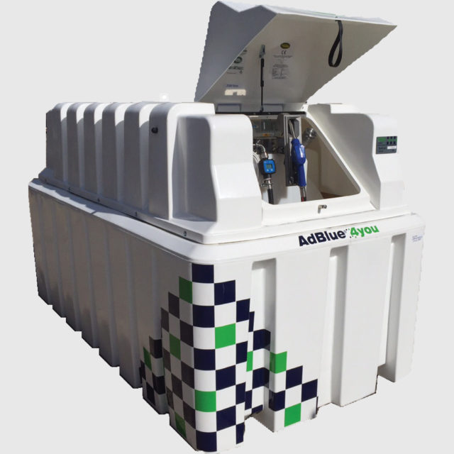 Small Fleet size Tank solution Integrated telemetry system by GreenChem AdBlue4You.